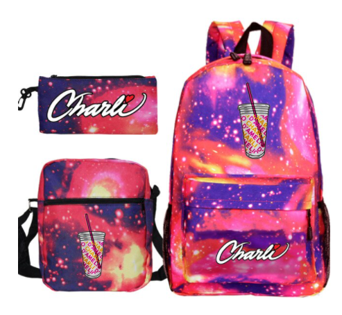 Charli x Galaxy Backpack Set -1