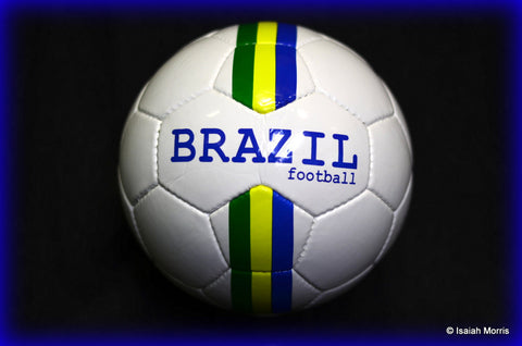 Brazil stripes football