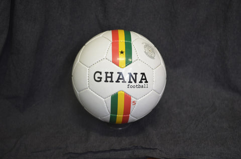 Ghana stripes football