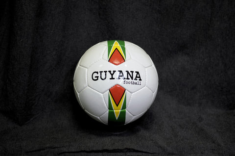 Guyana stripes football