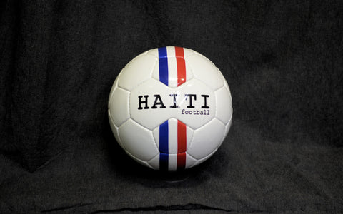 Haiti stripes football