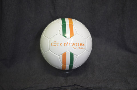 Cote D'Ivoire stripes football
