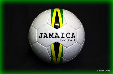 Jamaica stripes football