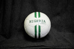 Nigeria stripes football