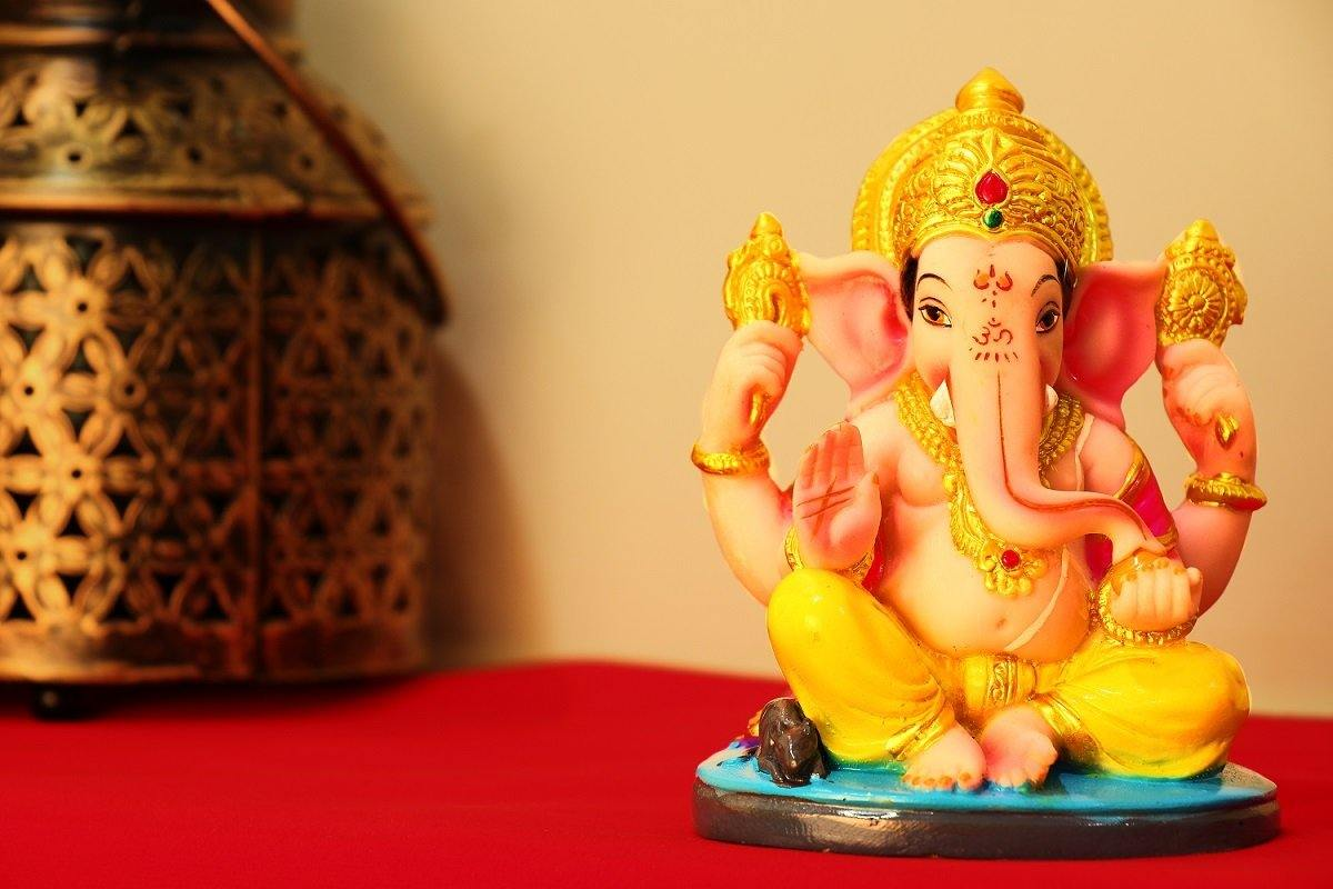 Handcrafted Eco Friendly Lord Ganesha Ganpati Idol