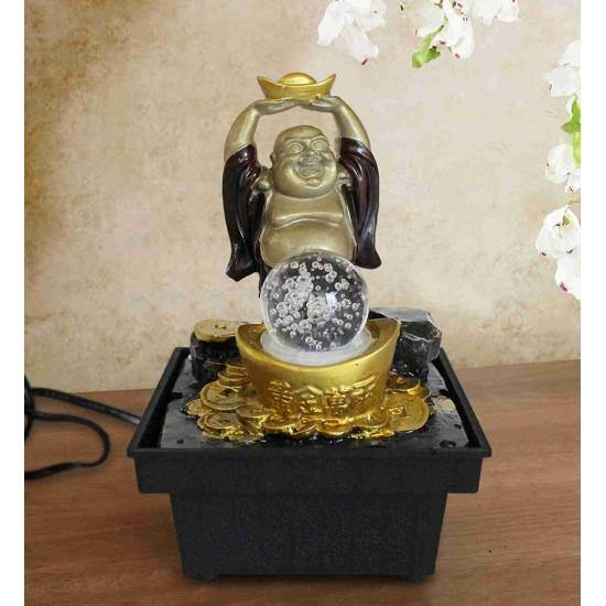 Laughing Buddha Water Fountain