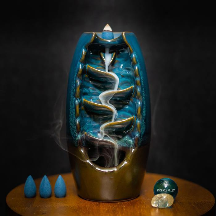 Craftemporio Ceramic Mountain (Incense Holder)