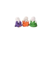 Craftemporio Colorful Laughing Baby Buddha