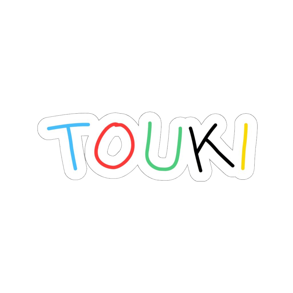 Touki Sticker