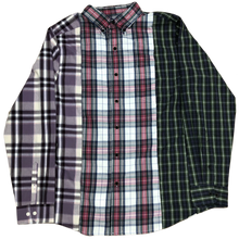 Load image into Gallery viewer, Upcycle: 3 Panel Flannel v1