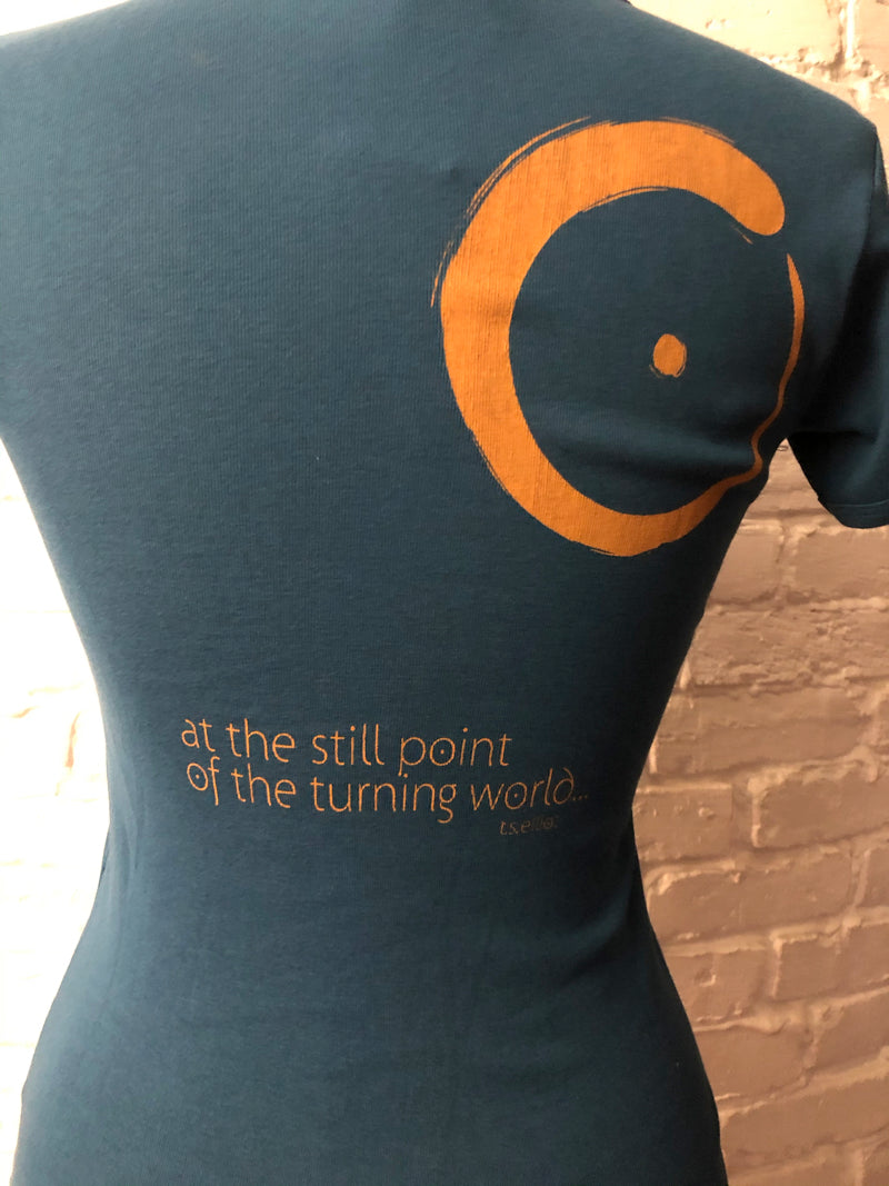 Still & Moving Center Logo T-shirts for Women