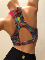 Load image into Gallery viewer, [Lilikoi Wear] Bra-Top:  Fruity Surf Top
