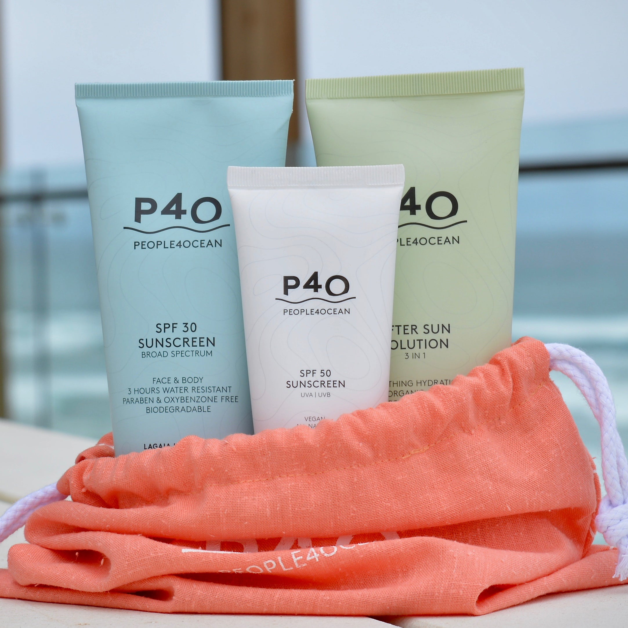SPF30, SPF50 Sunscreen & After Sun Family Pack