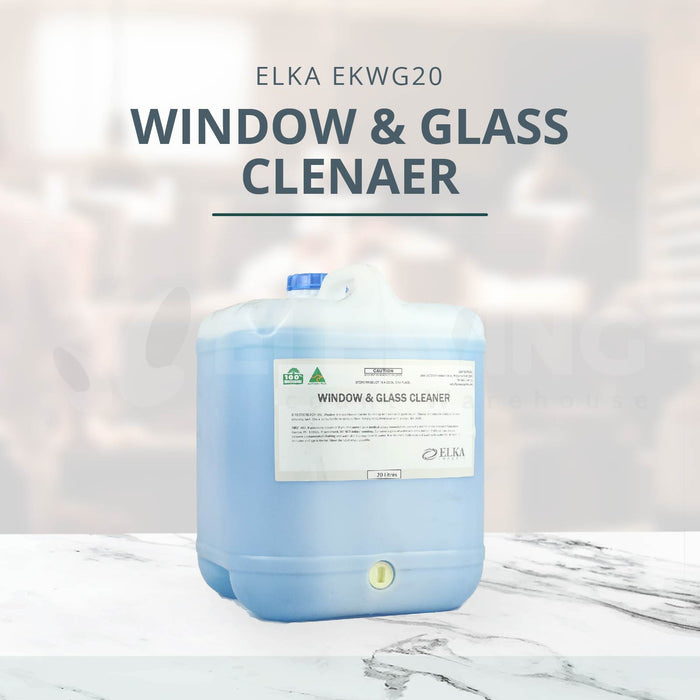 ELKA EKWG5/20, Window & Glass Cleaner, 5/20 Ltr Variants