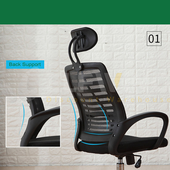Headrest Office Chair