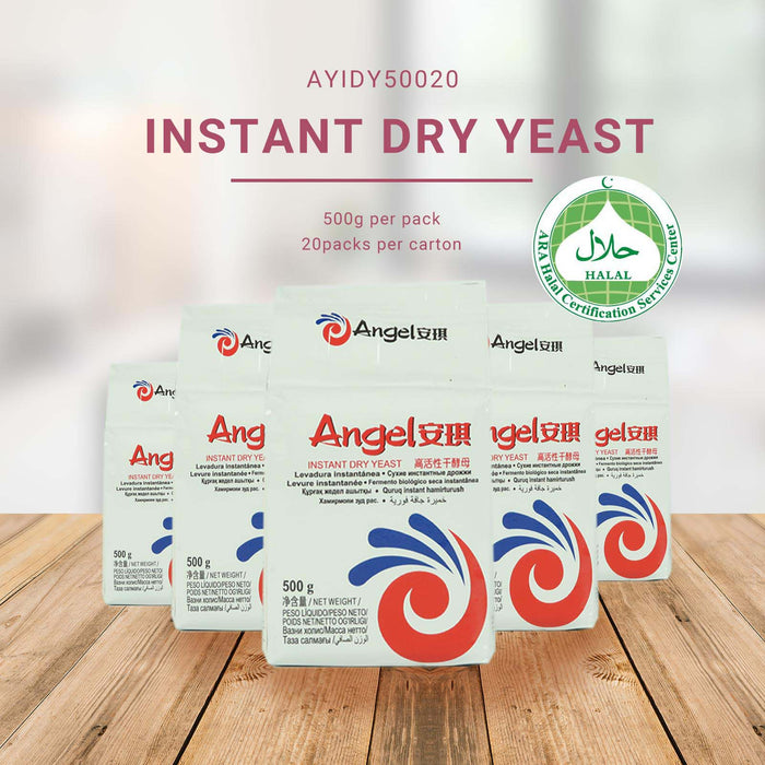 Angel Instant Dry Yeast (Low sugar) 500g