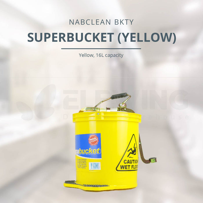 BKT Superbucket, Red/ Yellow/ Blue/ Green