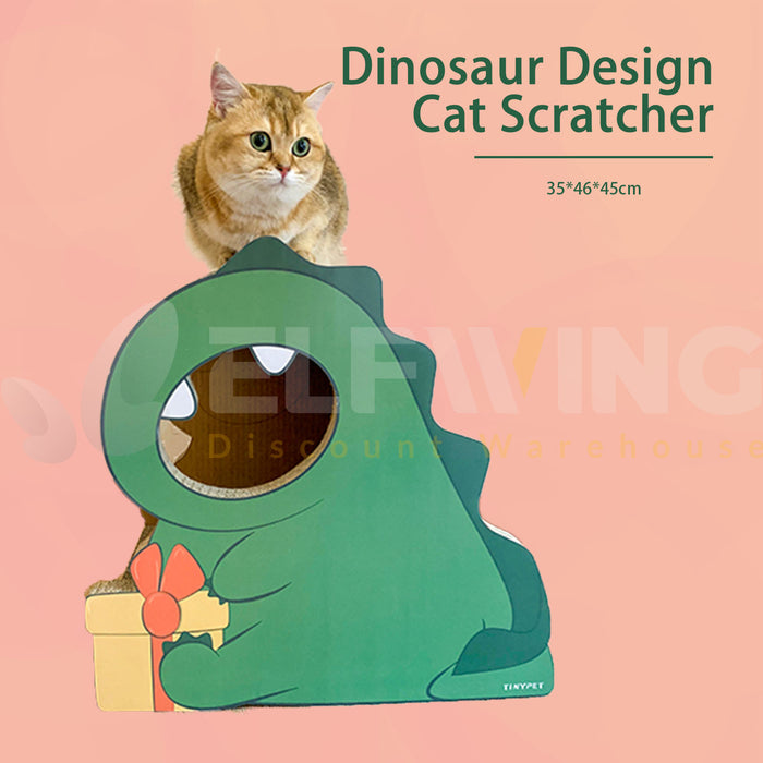 Dinosaur Cat Scratcher Post