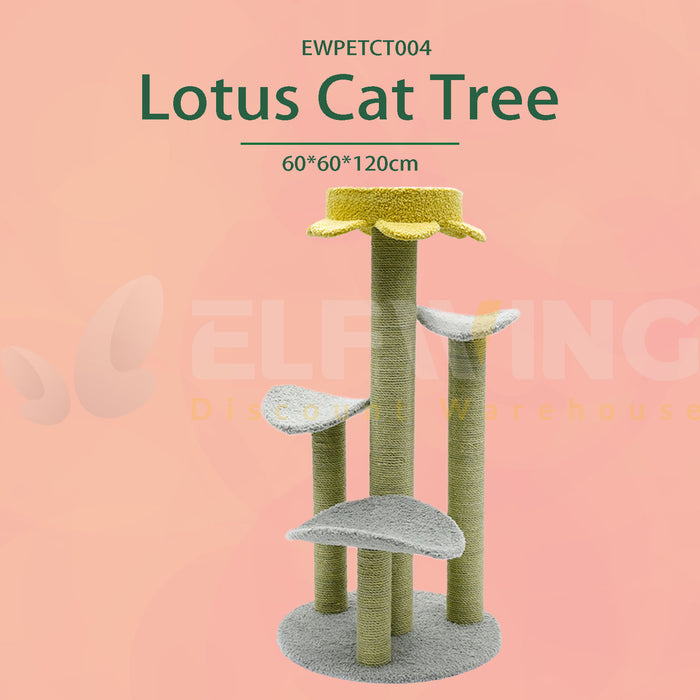 Lotus Leaf Cat Tree