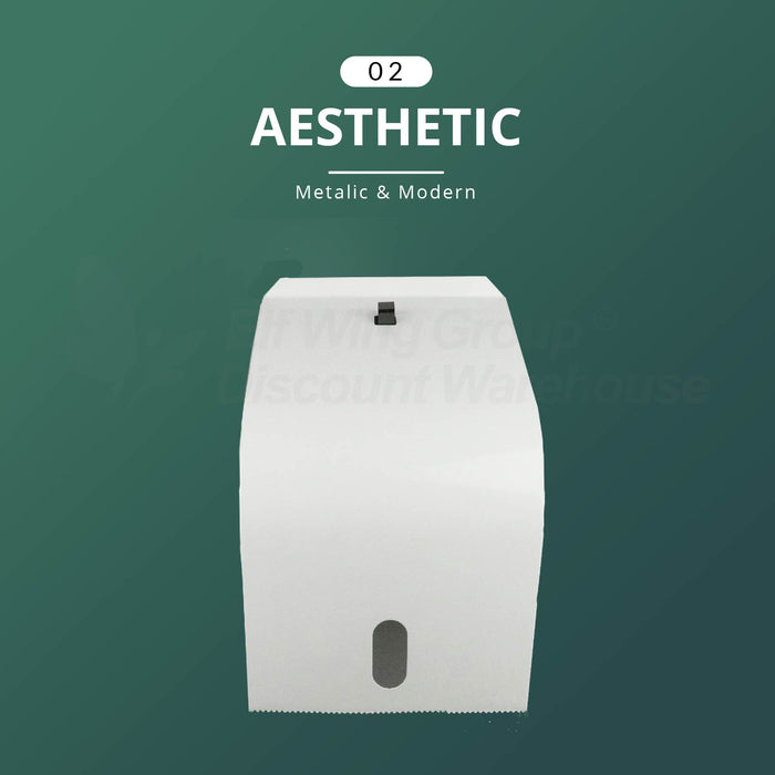 A&C Gentility 0103 Hand Roll Towel Metal Dispenser, Fit for 1 x 80m Paper roll towels, ( AC 8016/ AC 8018)
