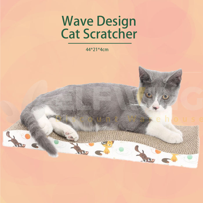 Wave Cat Scratcher Post
