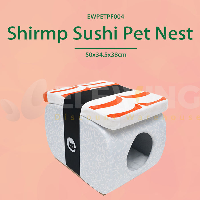 Shirmp Sushi Pet Nest