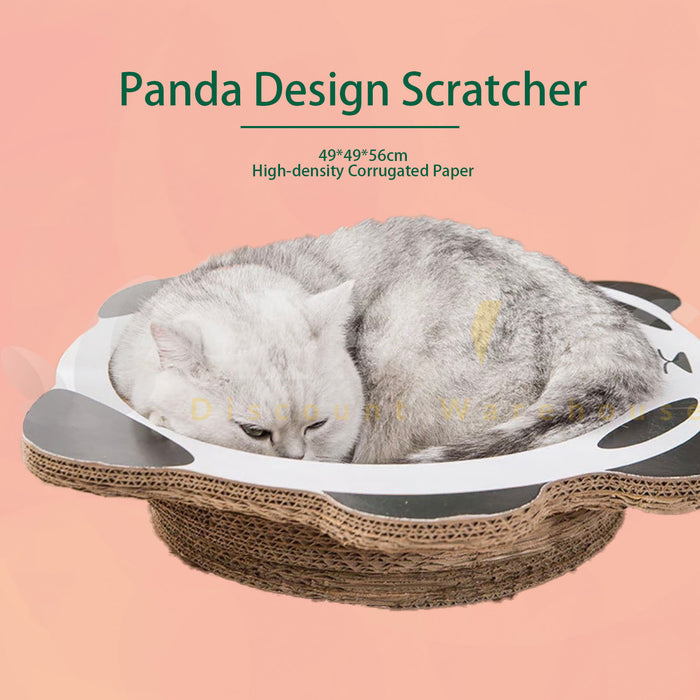 Panda Cat Scratcher Post