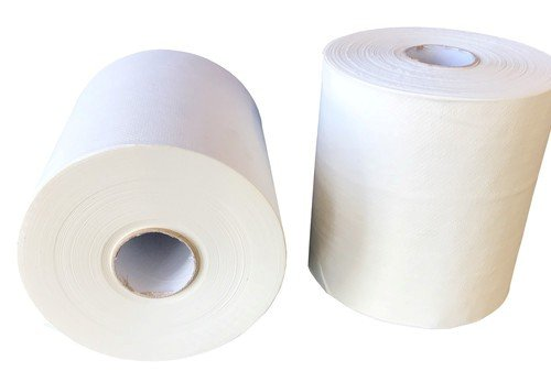 A&C 0018 Paper Roll Hand Towel 1 Ply, 100M TAD Process Air Dry Technology 12 Rolls Polybags