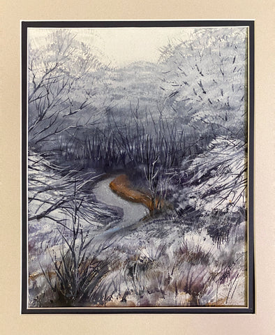 Watercolor painting by Virgil Deges