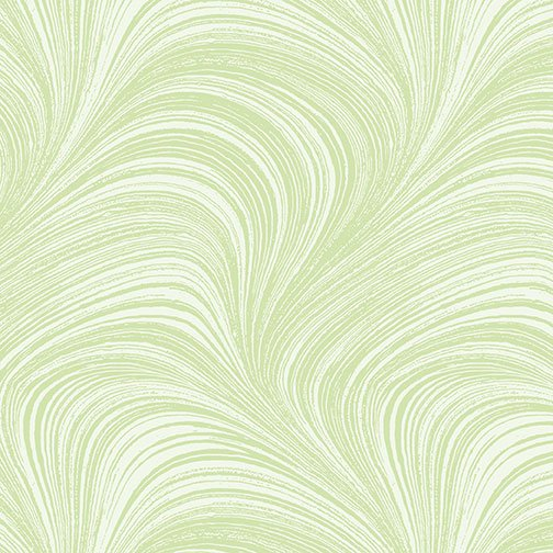 Wave Texture in Leaf Green - from Benartex