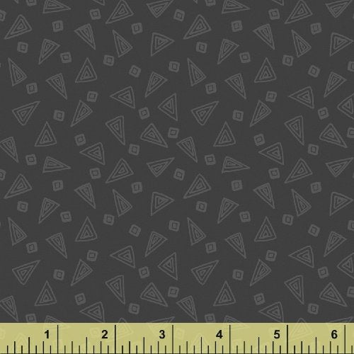 Fiesta Triangles in Foundry Gray from Windham Fabrics