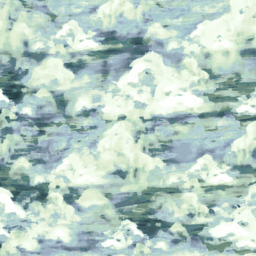 Studio e - Woodland Wonders - Cloud Texture in Spruce