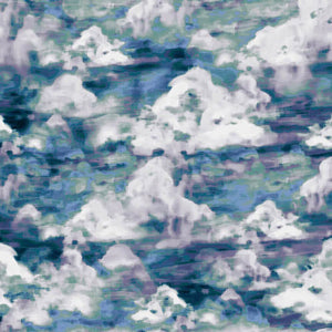 Studio e - Woodland Wonders - Cloud texture in Blues