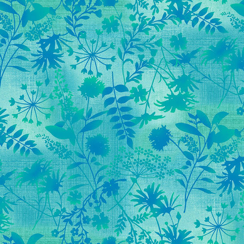Studio e - Woodland Wonders - Wildflower Toss in Spruce Green