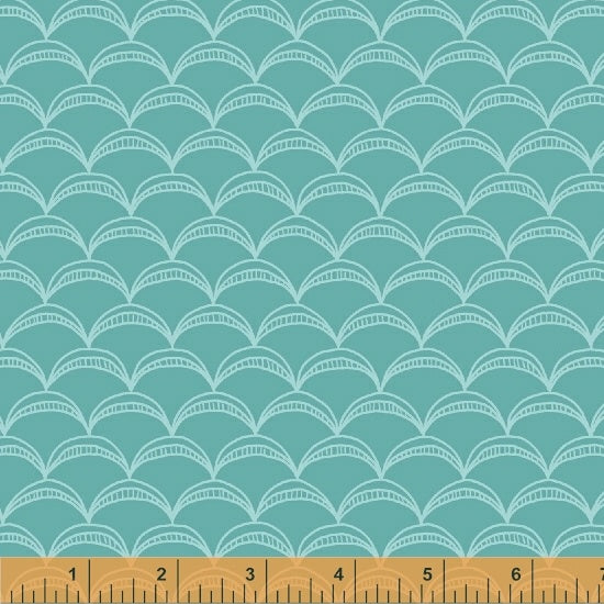Good Vibes Only - Teal Tone on Tone - from Windham Fabrics