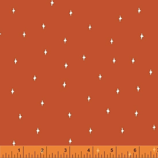 Good Vibes Only - Orange Blender - from Windham Fabrics