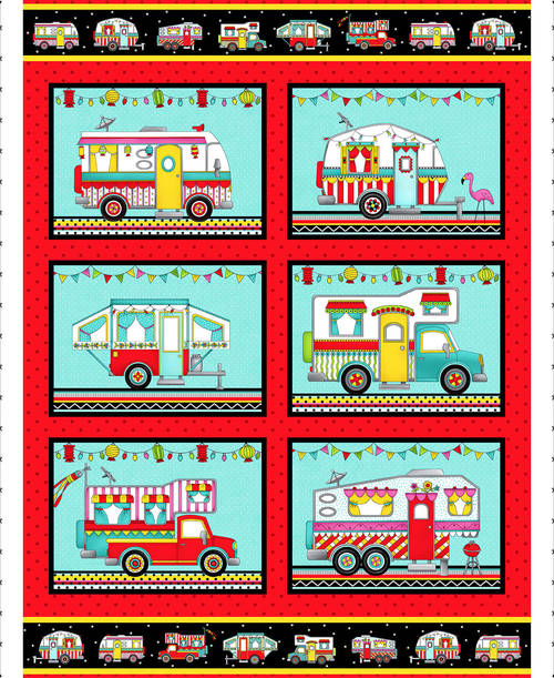 Roamin' Holiday Camper Panel - from Studio e