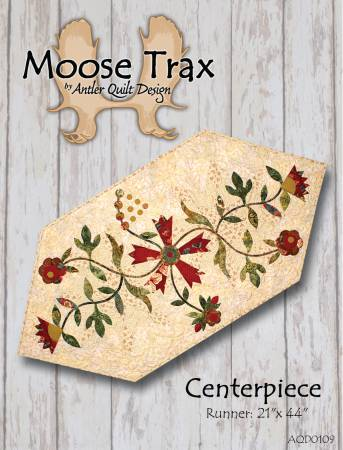 Moose Trax - by Doug Leko, Antler Quilt Design