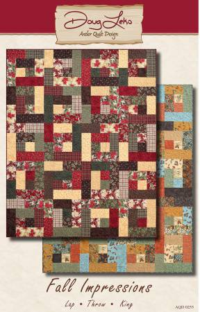 Fall Impressions - by Doug Leko, Antler Quilt Design