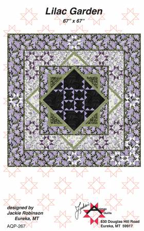 Lilac Garden - by Jackie Robinson, Animas Quilts Publishing