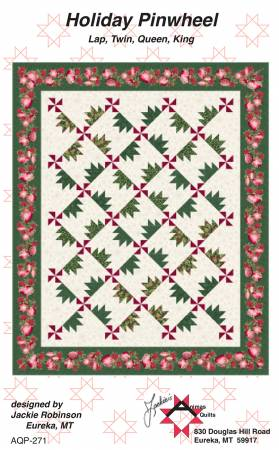 Holiday Pinwheel - by Jackie Robinson, Animas Quilts Publishing