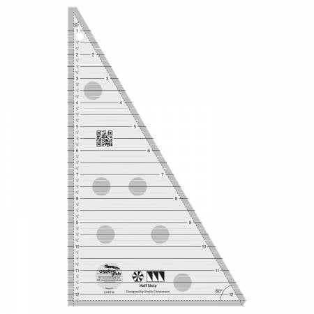 Half Sixty Triangle Ruler from Creative Grids