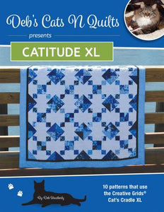 Catitude XL - by Deb Heatherly