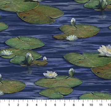 Northcott, Water Lilies, The Great Blue