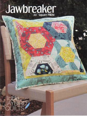 Jawbreaker Pillow - by Julie Herman, Jaybird Quilts