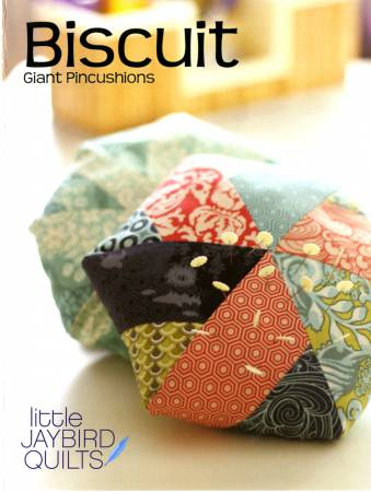 Biscuit Giant Pincushion - Julie Herman, Jaybird Quilts