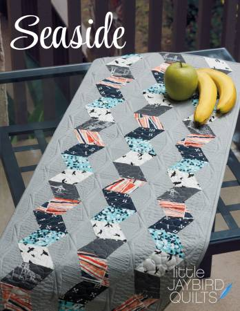 Seaside Table Runner - by Julie Herman, Jaybird Quilts