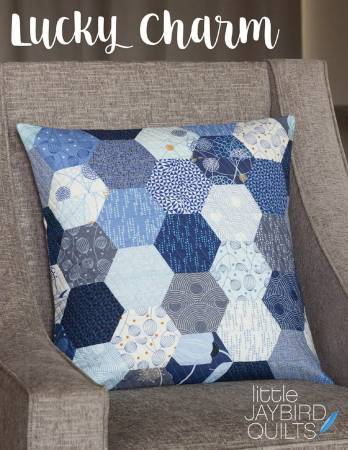 Lucky Charm Pillow - by Julie Herman, Jaybird Quilts