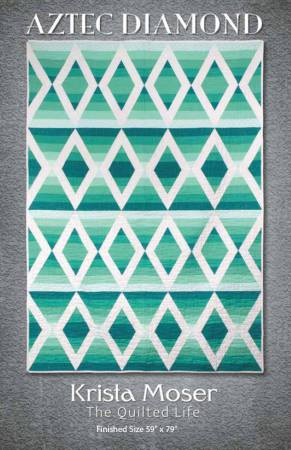 Aztec Diamond, by Krista Moser The Quilted Life