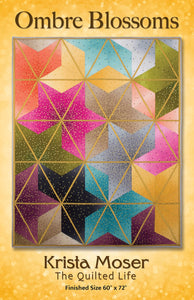 Ombre Blossoms, by Krista Moser The Quilted Life